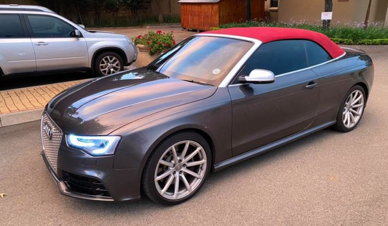 2015 AUDI RS5 QUATTRO CAB SRONIC, 66000km @ R519900! full